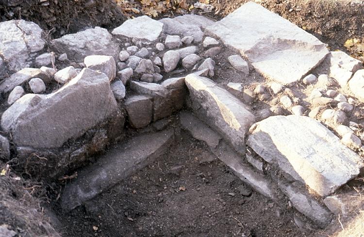 Utgrävning av Ölanda kyrka.