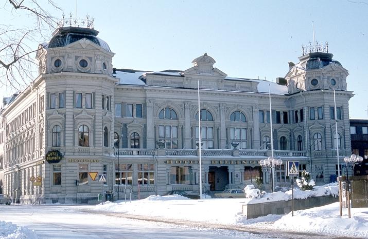 Bildtext: Skövde. Hotell Billingen.