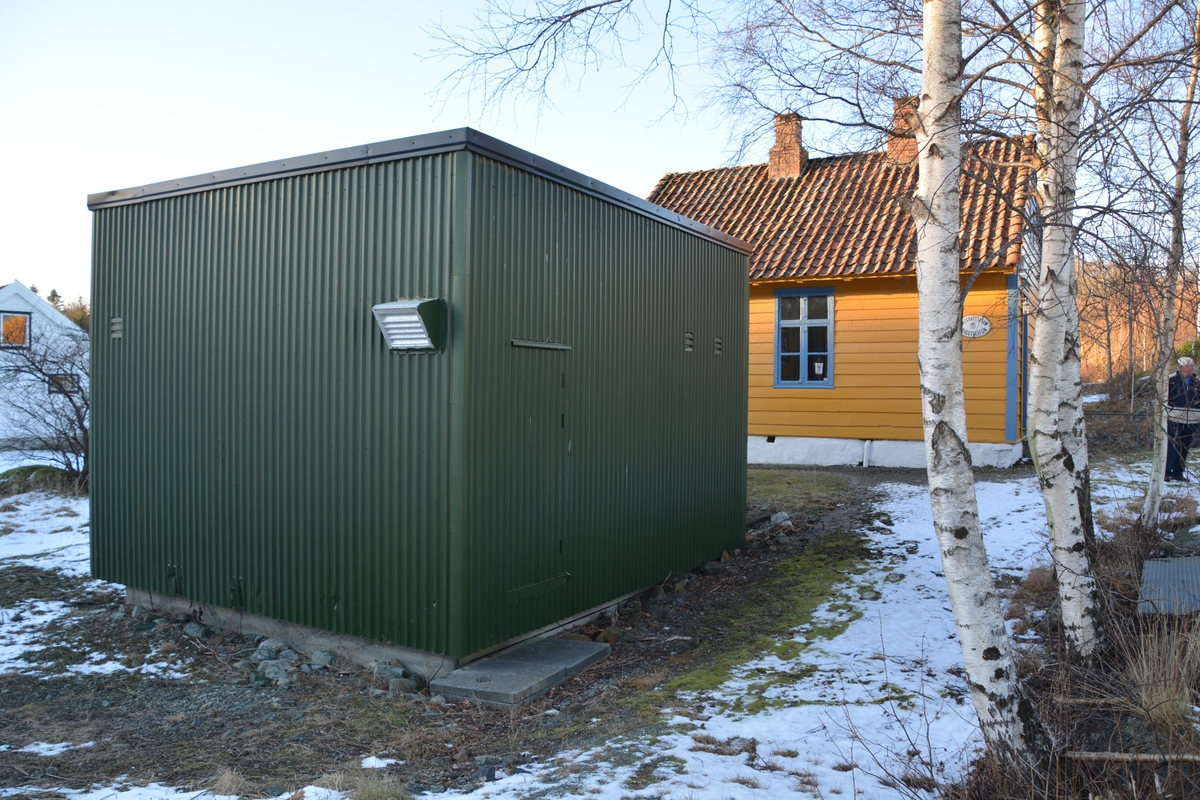 Finnås automatsentral containersentral