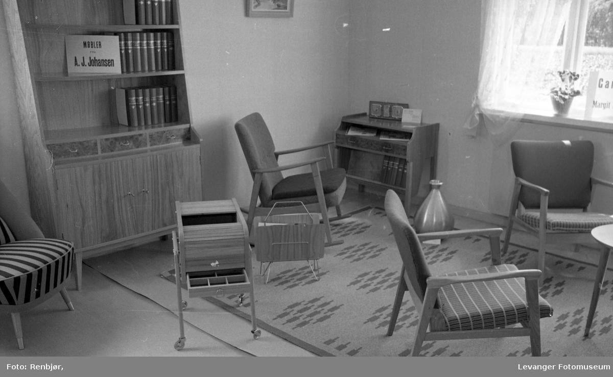 Stue interiør, fra Bo-utstilling