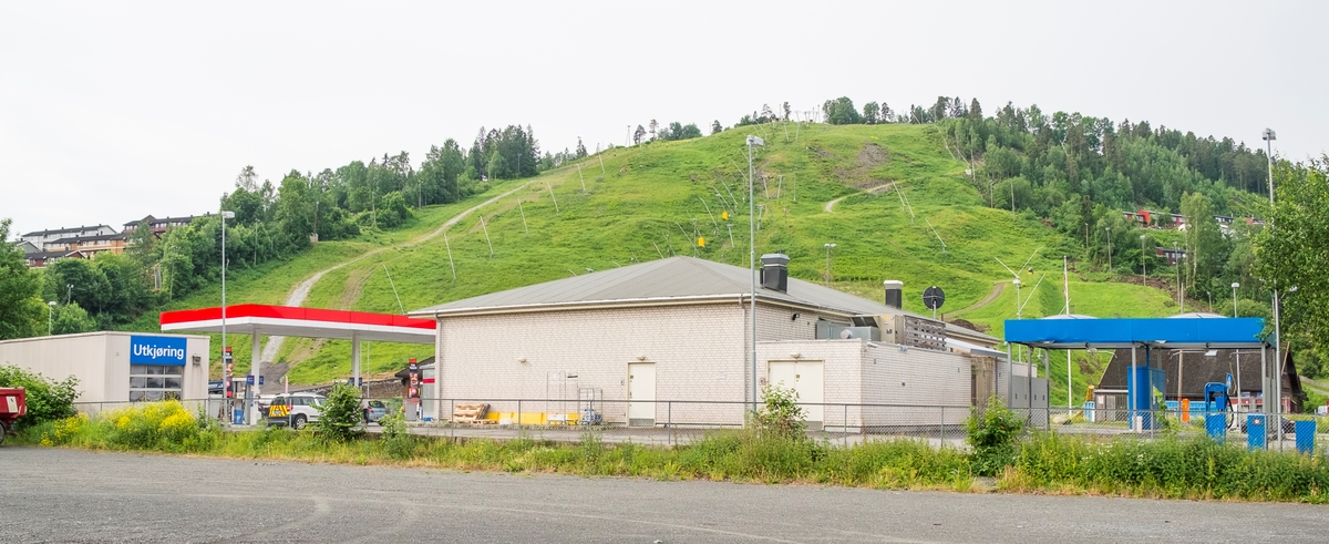 Esso bensinstasjon Skuiveien Vøyenenga Bærum
