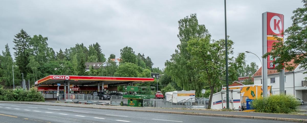 Circle K bensinstasjon Nadderudveien 55 Bekkestua Bærum
