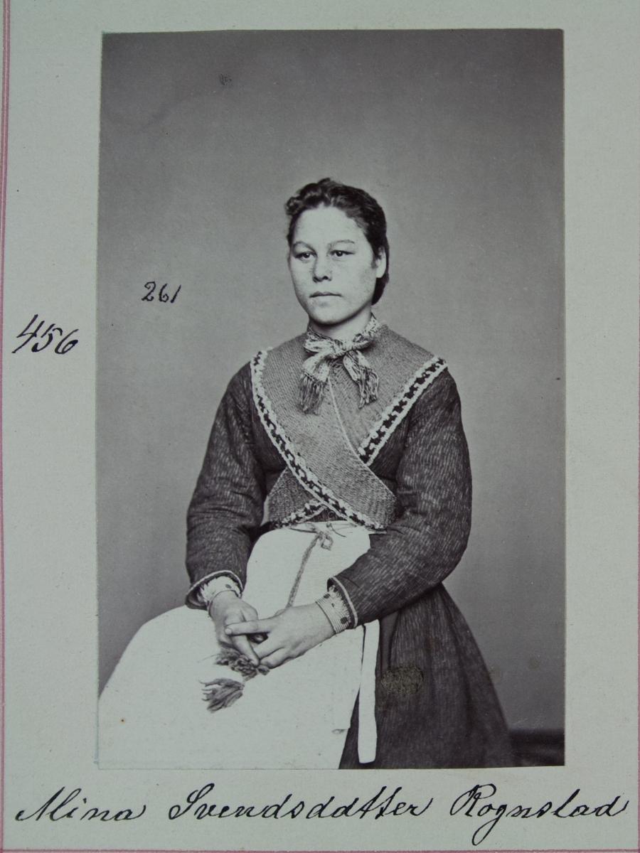 Fangeportrett, Mina Svendsdatter Rognstad