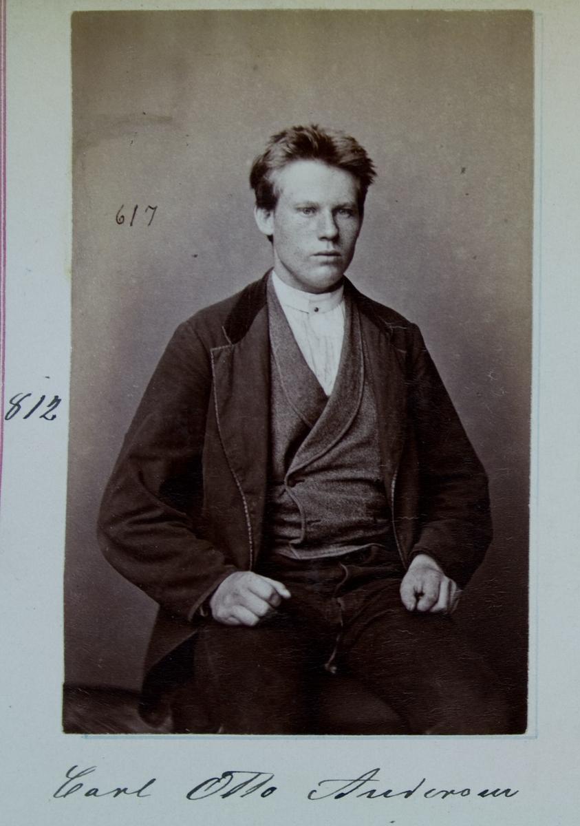 Fangeportrett, Carl Otto Andersen