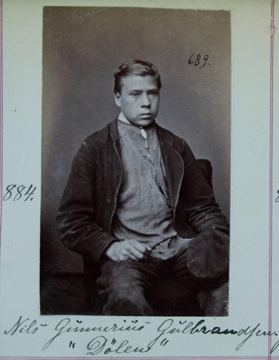 Fangeportrett, Nils Gunnerius Gulbrandsen