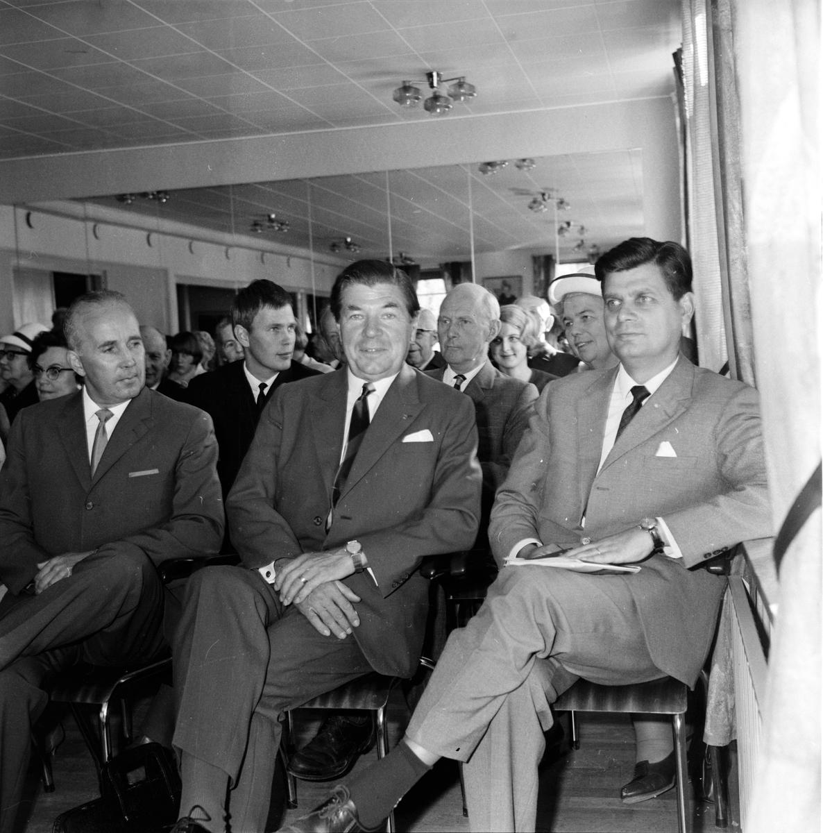 Högerns valmöte i Bollnäs, 8 September 1966