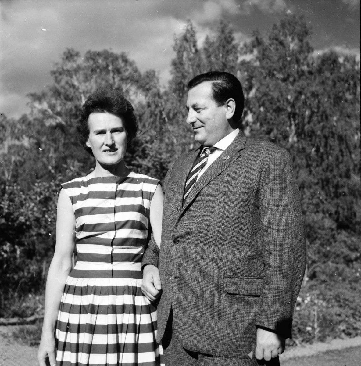 Gruvberget, Utflykt, Tyskt par, 1959