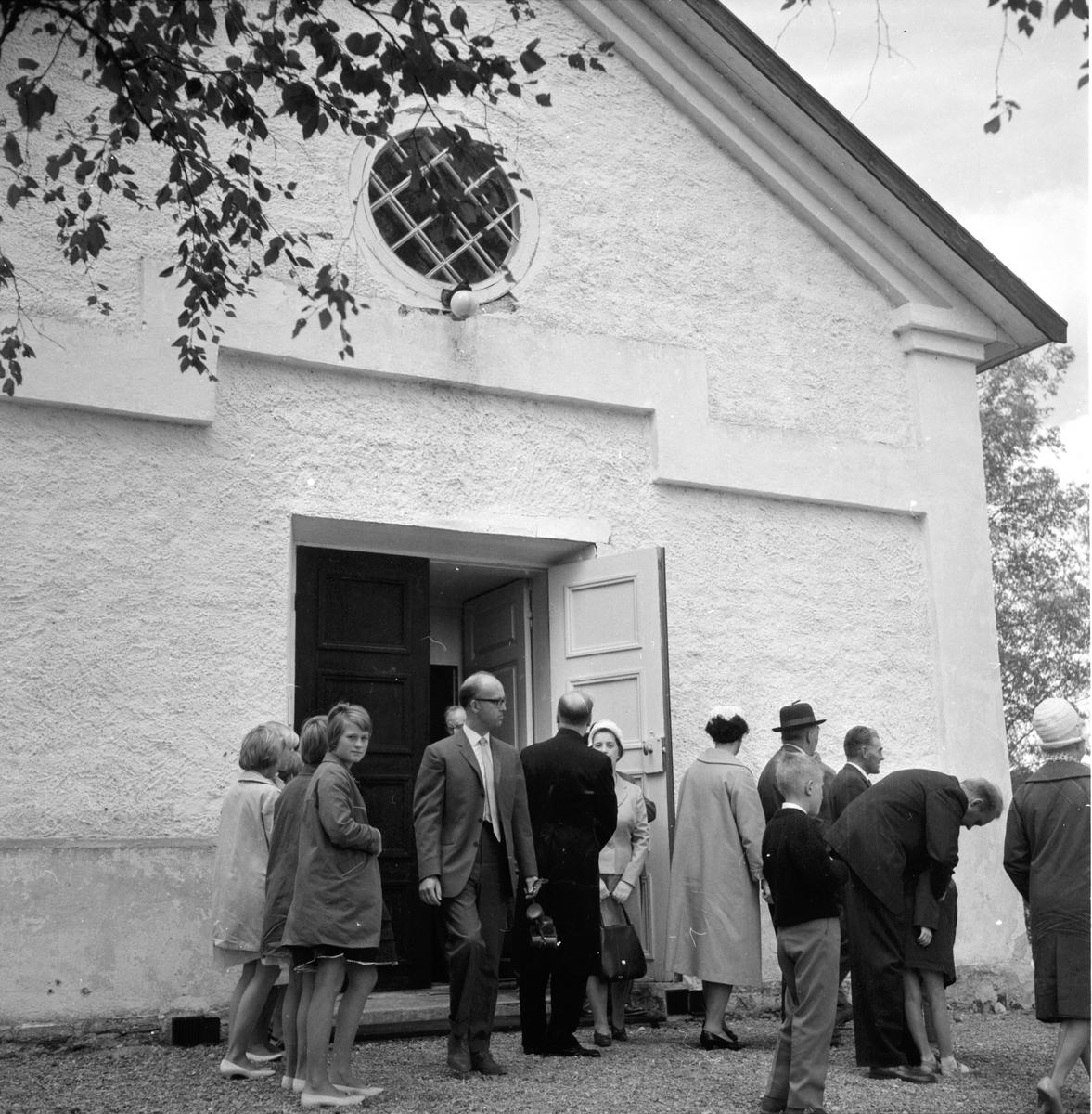 Svabensverk, Kyrksöndag, 20 Augusti 1961