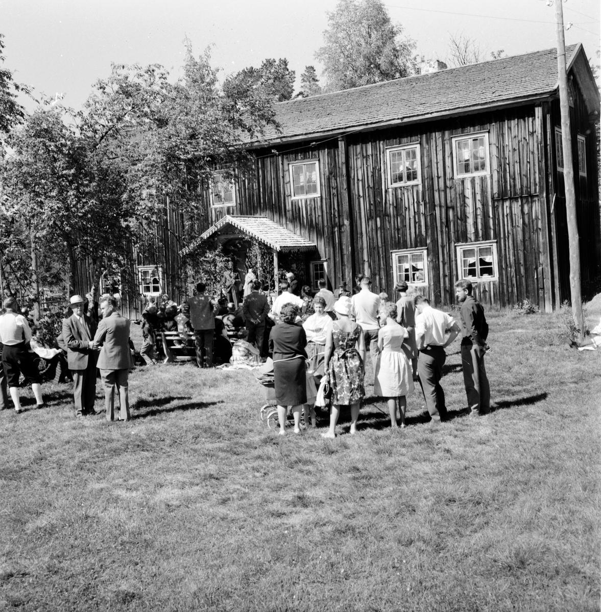 Fågelsjö, Hembygdsdag, 1 Juli 1962