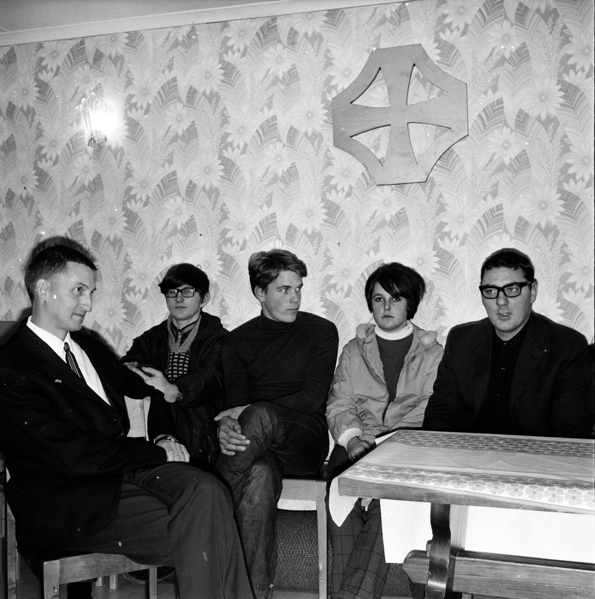 Arbrå, Tonårsträff, Missionskyrkan, 23 Oktober 1967