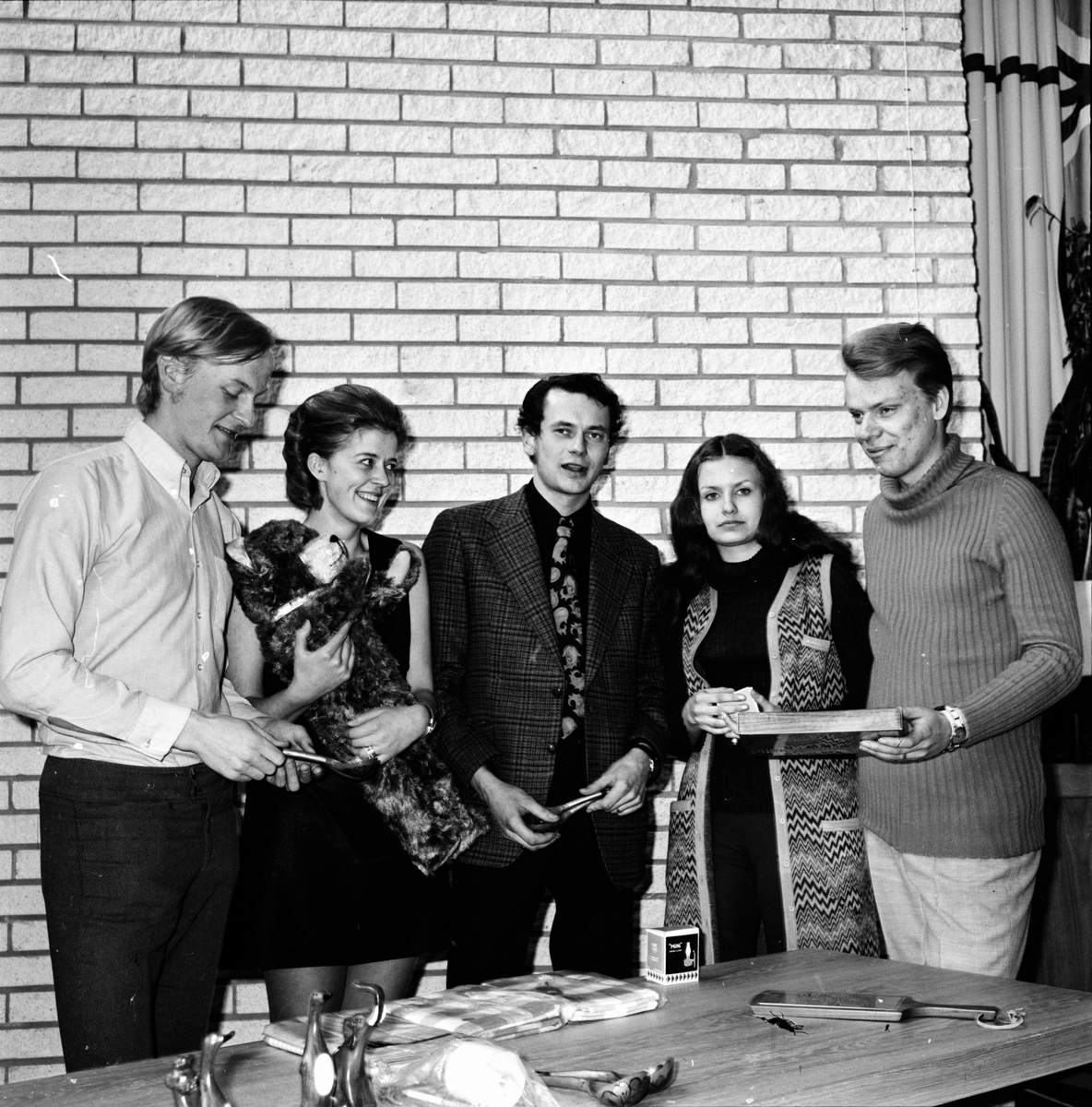 Arbrå, CUF-distriktsmöte, April 1971