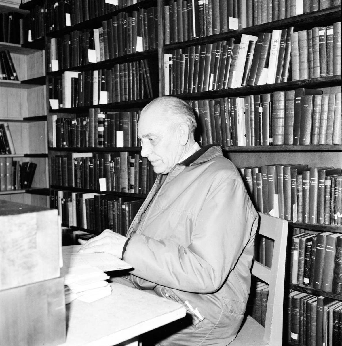 Undersvik, Kyrkan och kantor Edlund, Juli 1971