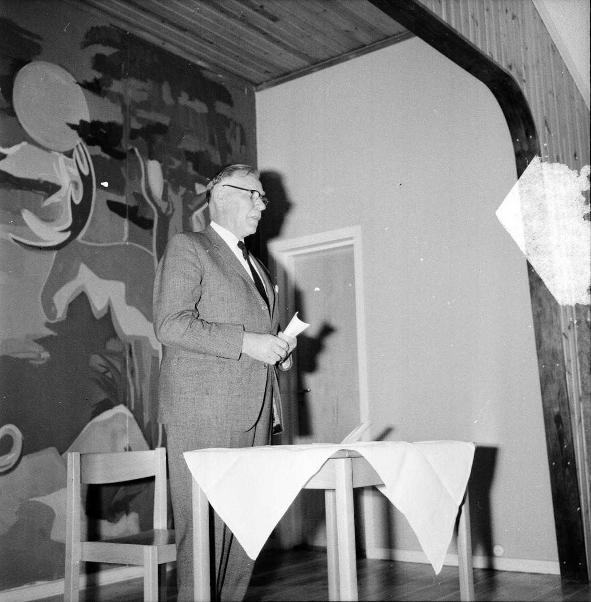 Nordsjöhemmet visas för landshövdingen m.fl. 28 Maj 1965