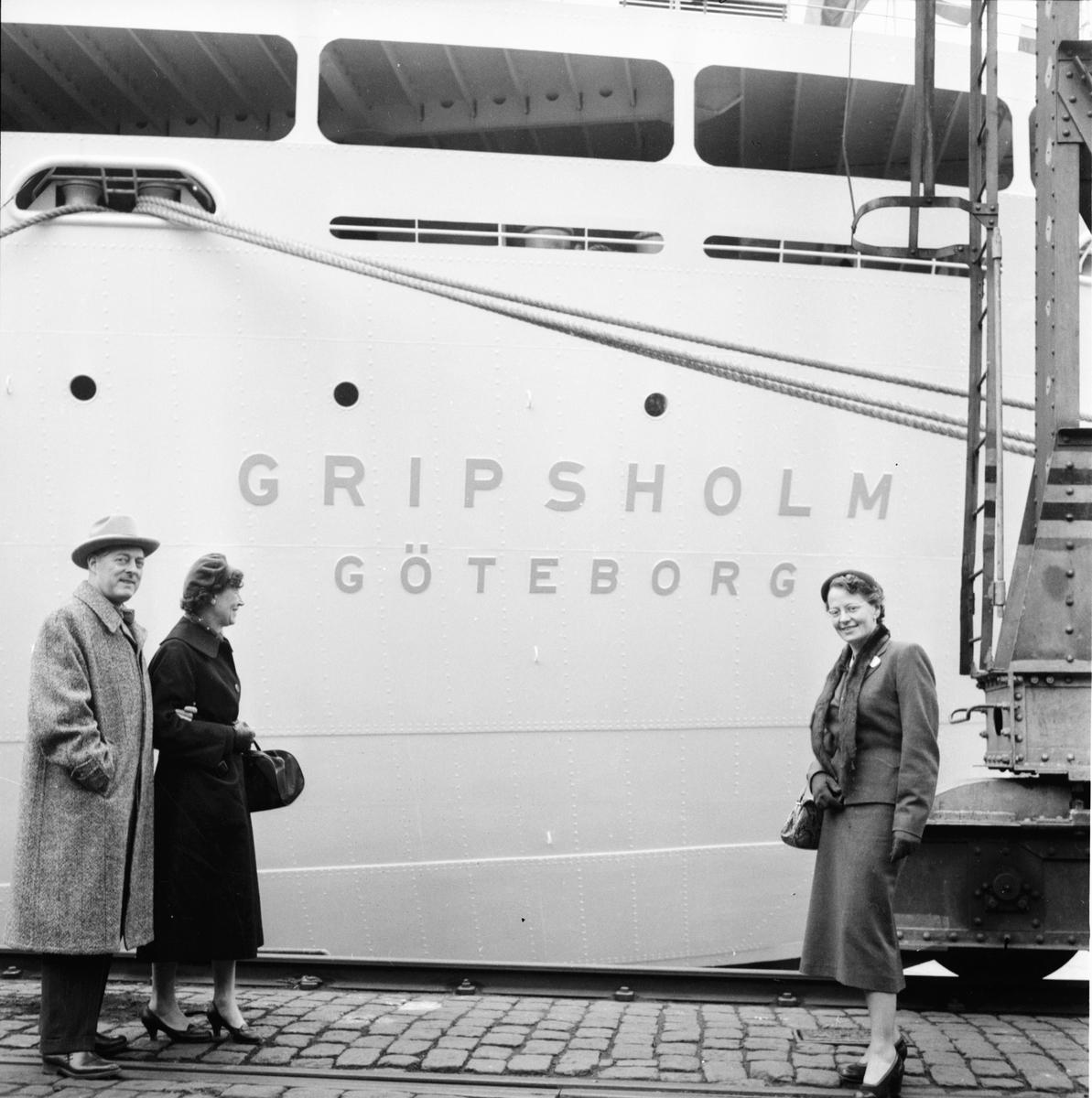 Göteborg. Lions-konferans. (Båten Gripsholm) 1957