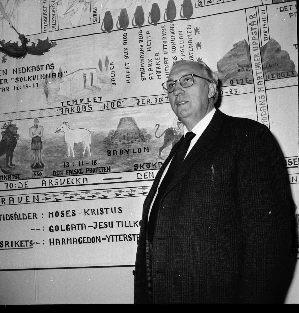 Arbrå, Filadelfia-profet, Nov. 1969