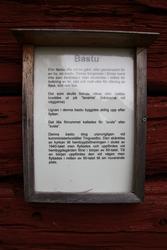 Bastu vid Huddunge hembygdsgård, Huddunge socken, Uppland 20