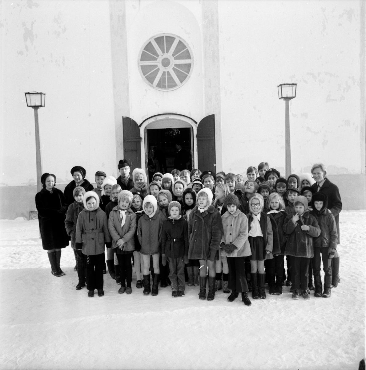 Undersvik, Stiftsgården, Feb 1970