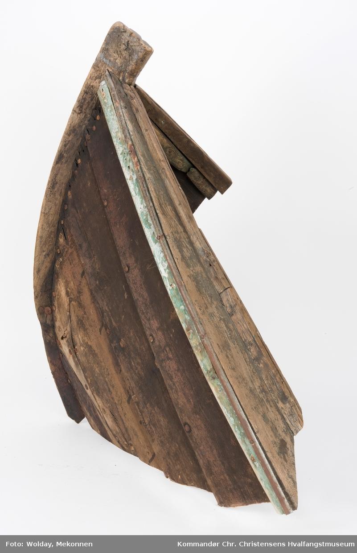 Baugen til en båt av typen Oselver.