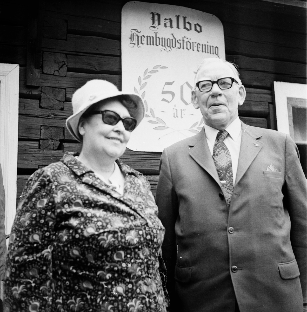 Hembygdsförbundets årsmöte i Valbo Juni 1972