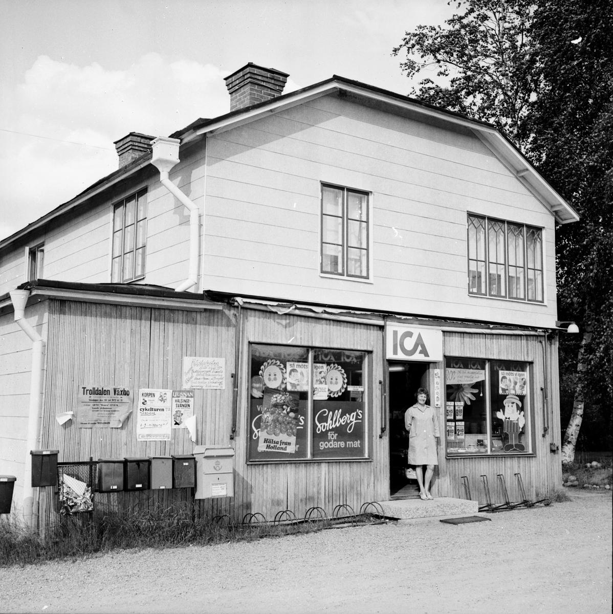 Affären i Flästa upphör. September 1972