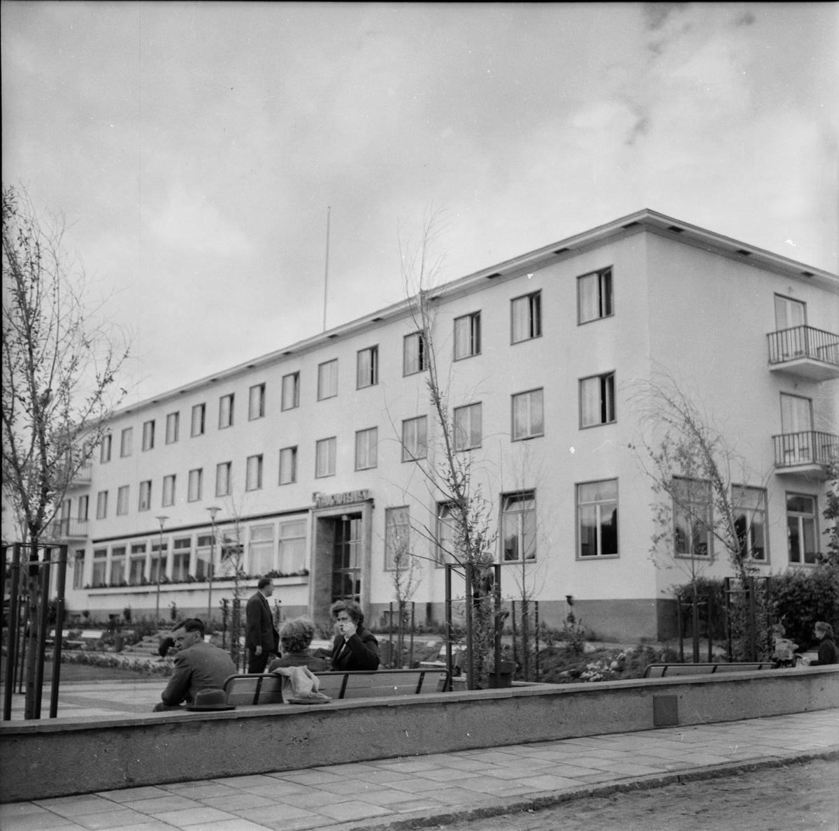Kommunordförande Axel Sundberg Ljusdal 1955