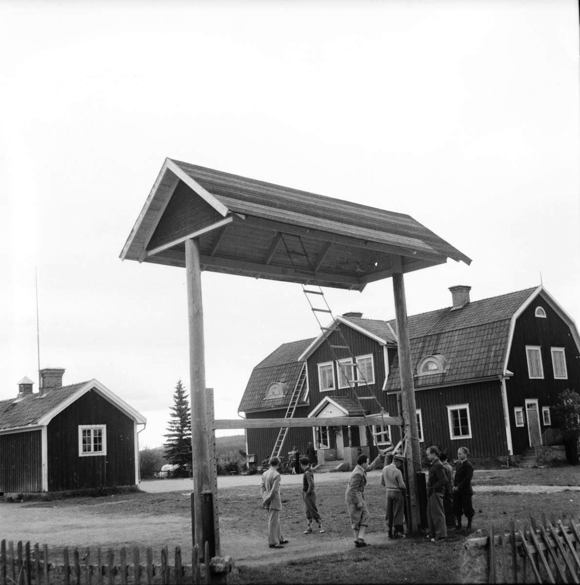 Arbrå, Östansjö skola, Vallsta, sista avslutningen.