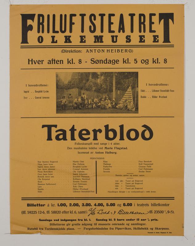 Teaterplakat NF.34668-076
