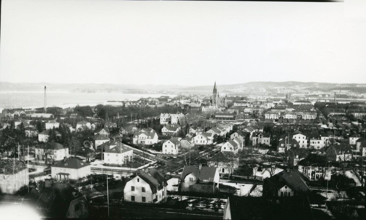Jönköping från Stadsparksberget.
