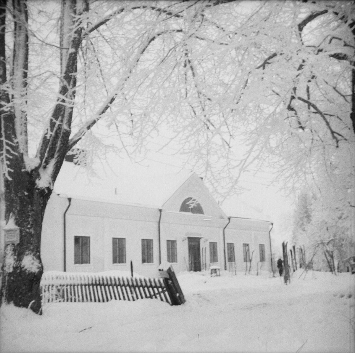 Invigning av Vårdsätra gård, Uppsala, januari 1948