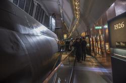 Invigning av ubåtshallen, med ubåten NEPTUN , i Karlskrona.
