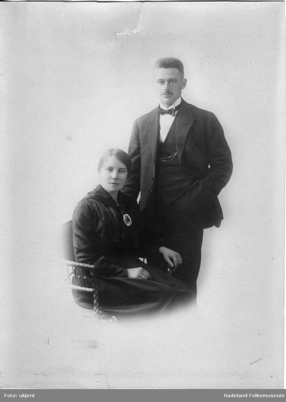 Ekteparet Inga Ulsrud og Mads Ulsrud.