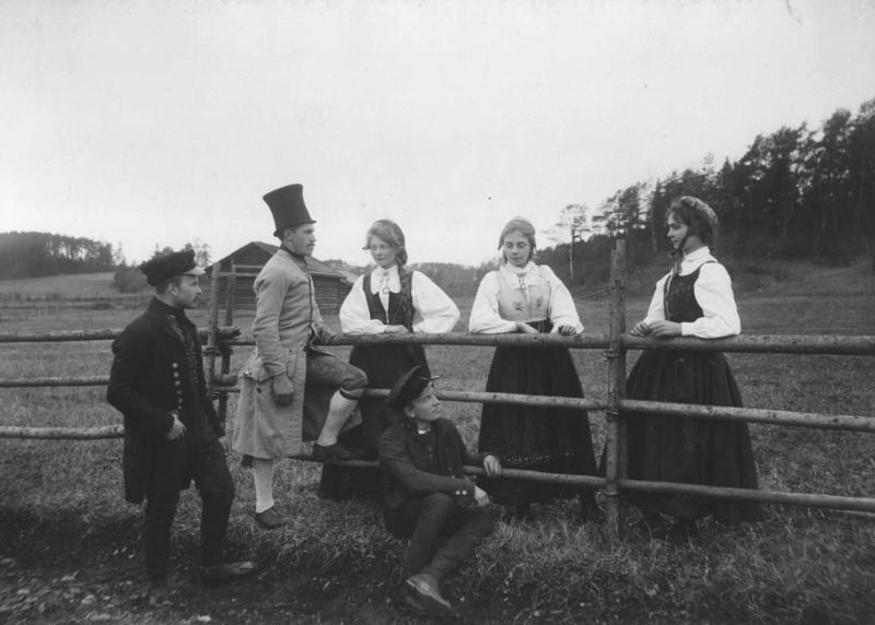 På Folkemuseet 1903.