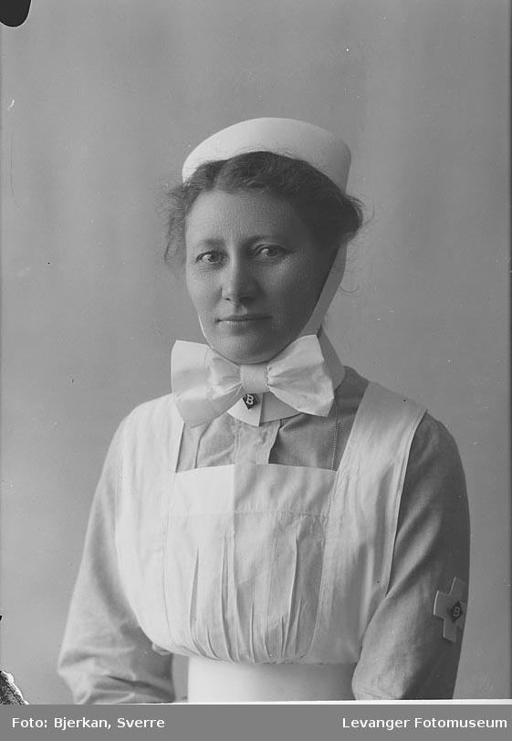 Portrett av Hanna Burø.