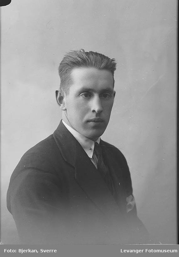 Portrett av Einar Homo.