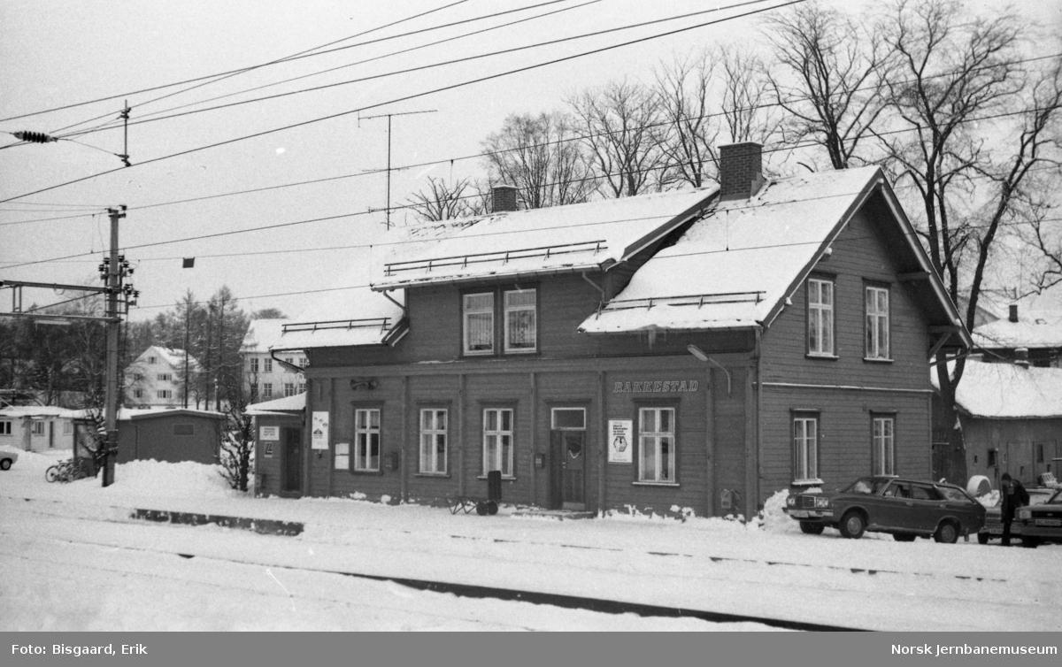 Stasjonsbygningen på Rakkestad stasjon