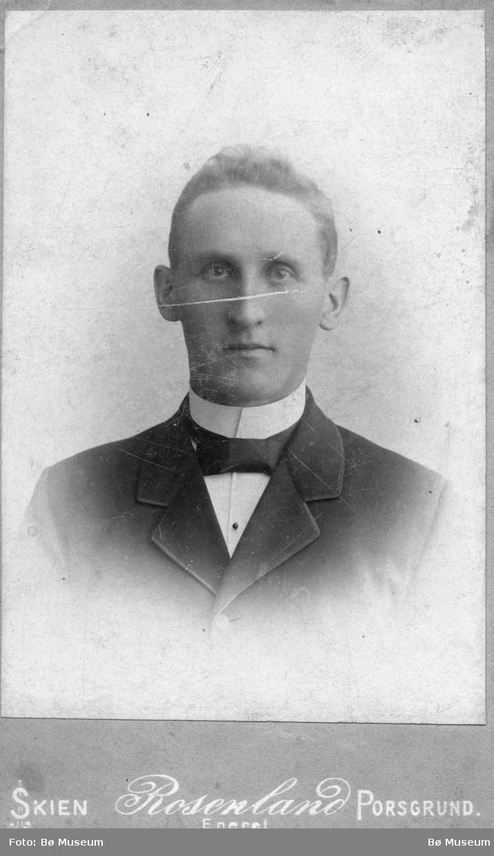 Portrett av Halvor Sønstebø jr.