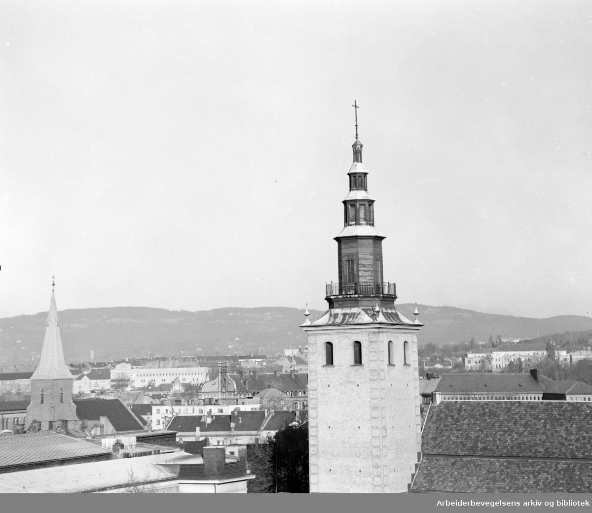 Svenskekirken. Oktober 1957
