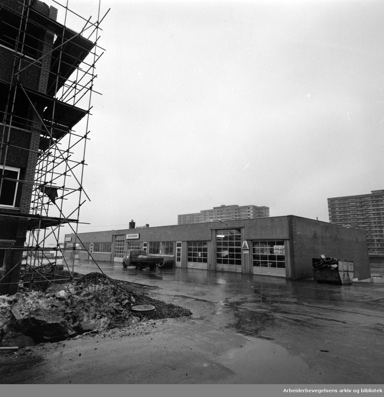 Tveita. A/S Verkstedbygg. November 1976