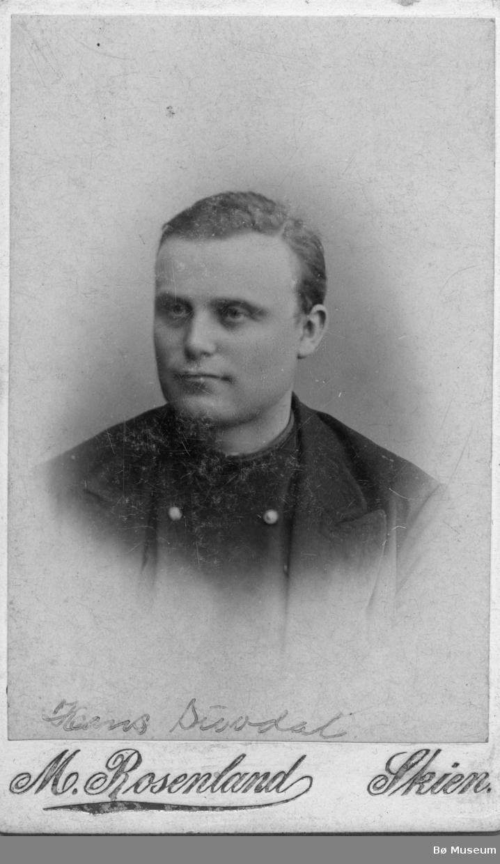 Portrett av Hans Suvdal