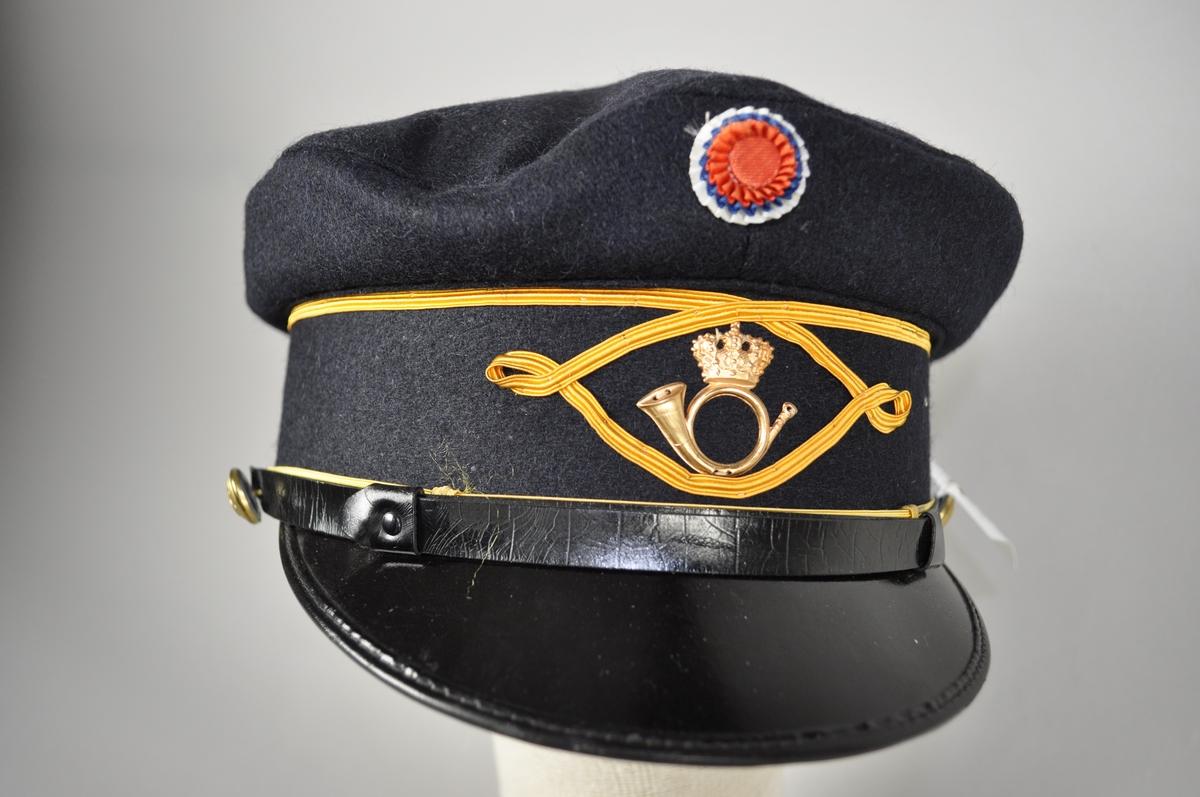 Uniformslue for poståpnere