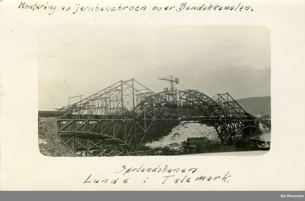 Sørlandsbanen. Lunde i Telemark