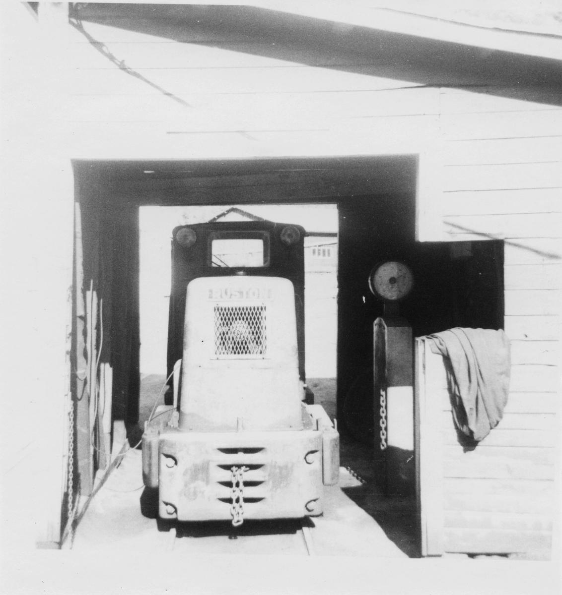 Rekefjordbanens diesellok type Ruston.