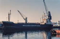 Fotoserie fra utskipningen av 11 diesellokomotiver type Di 6