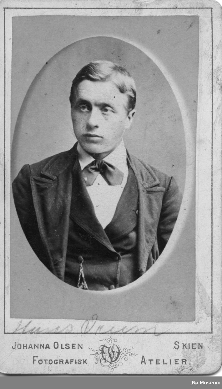Portrett av Hans Vreim