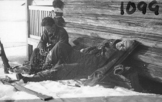 Kohlstedt, sergeant, A 6, till höger.