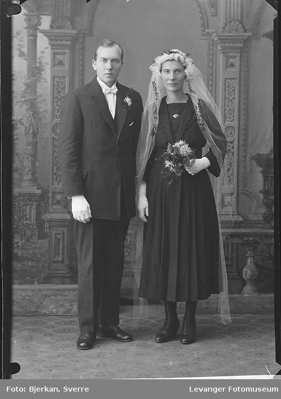 Brudebilde Mannen heter Nils Vinje
