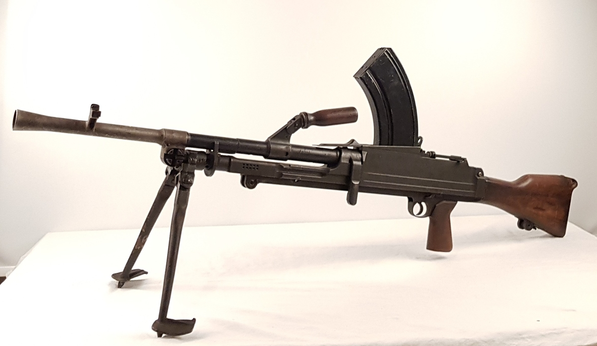 Maskingevær av typen Bren LML.