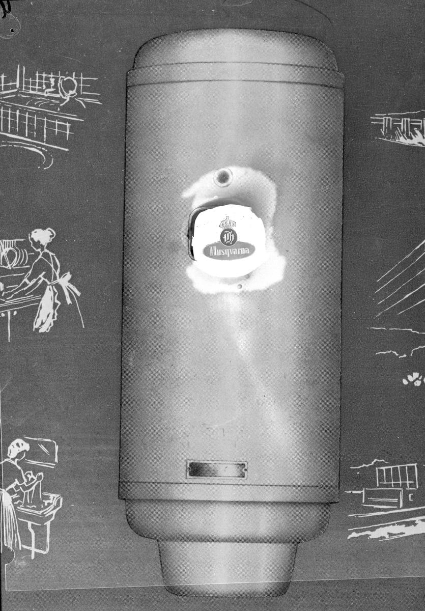 Vattenberedare, december 1958
