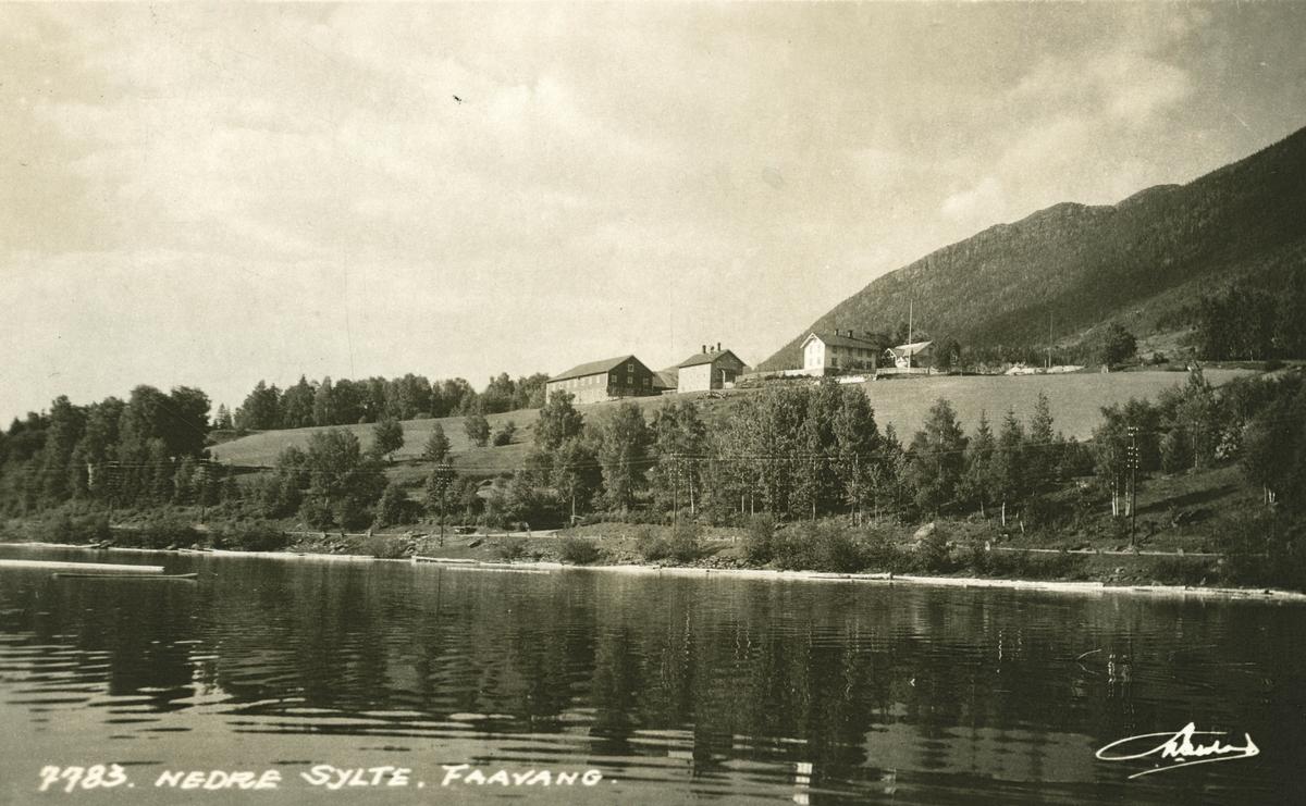 Postkort: Nedre Sylte, Fåvang