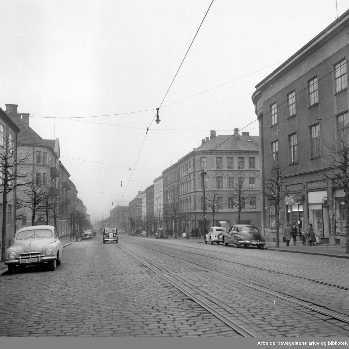 Vogts gate. November 1957